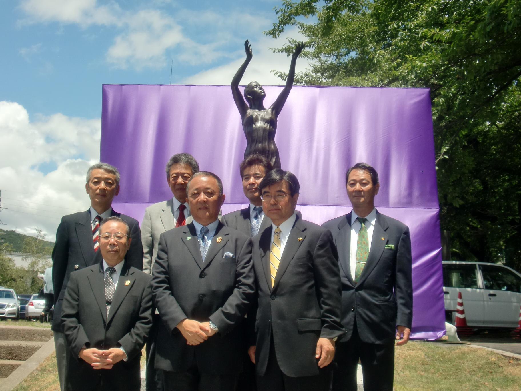 茅野ライオンズクラブ結成50周年茅野レオクラブ結成40周年記念式典