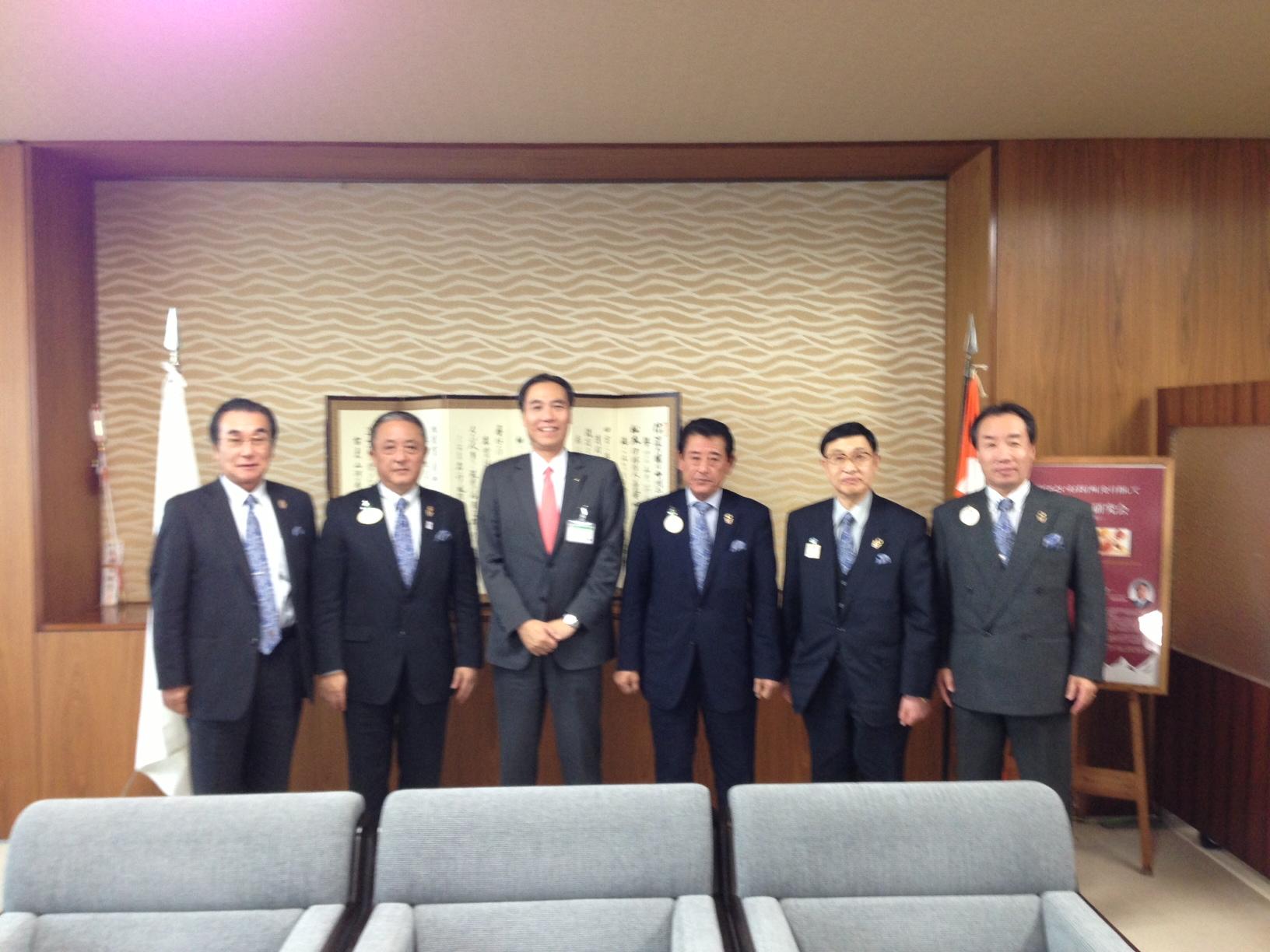長野県知事表敬訪問