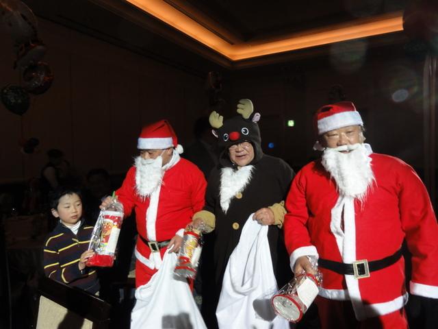 松本アルプスLCクリスマス家族パーティー