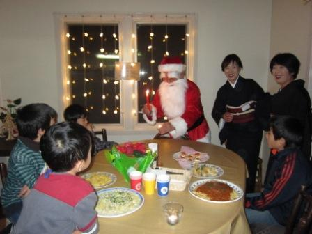 明科LC家族合同クリスマス会