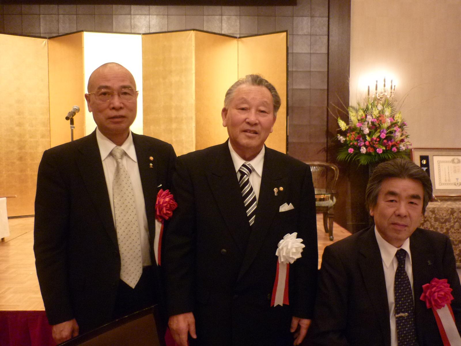 松本アルプスLC・L.二木 昇 瑞宝双光章受章祝賀会