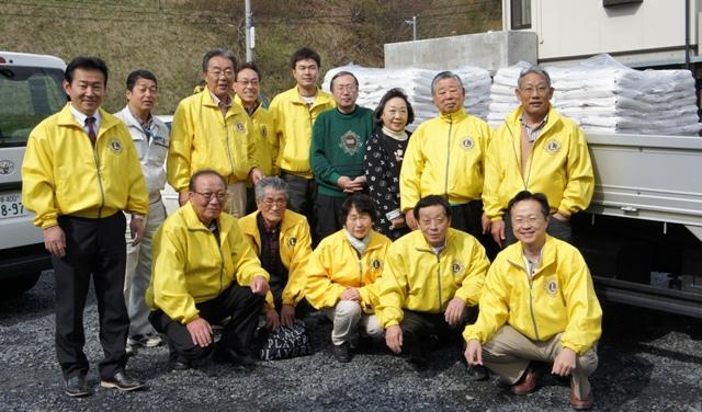 長野千曲LC 『332-B地区岩手県大槌ライオンズクラブ復興支援事業』