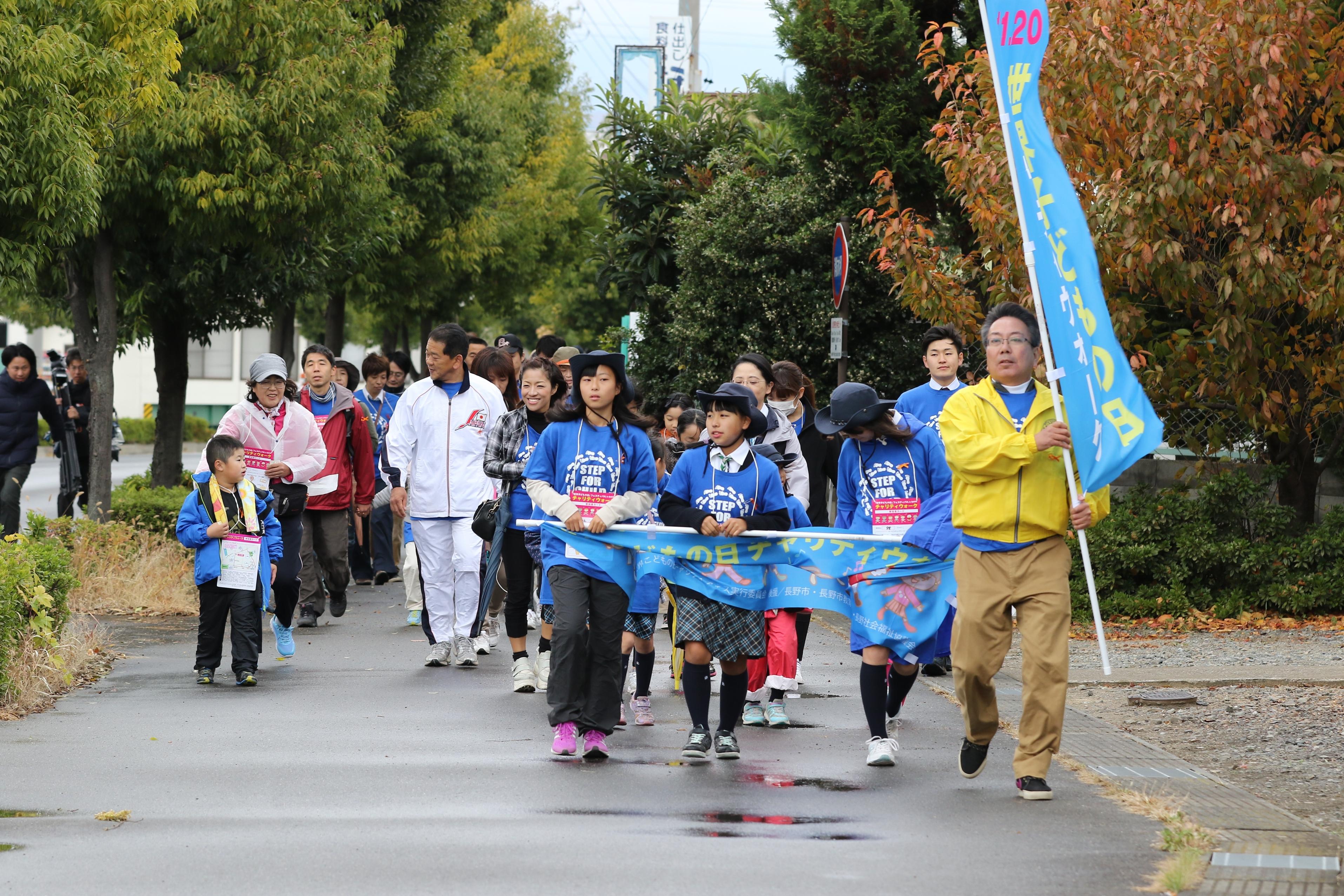 長野千曲LC「世界子どもの日」フェスティバルチャリティウォーク③